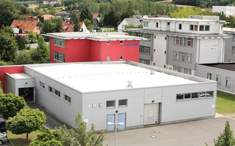 Ertron Firmengebäude in Erfurt